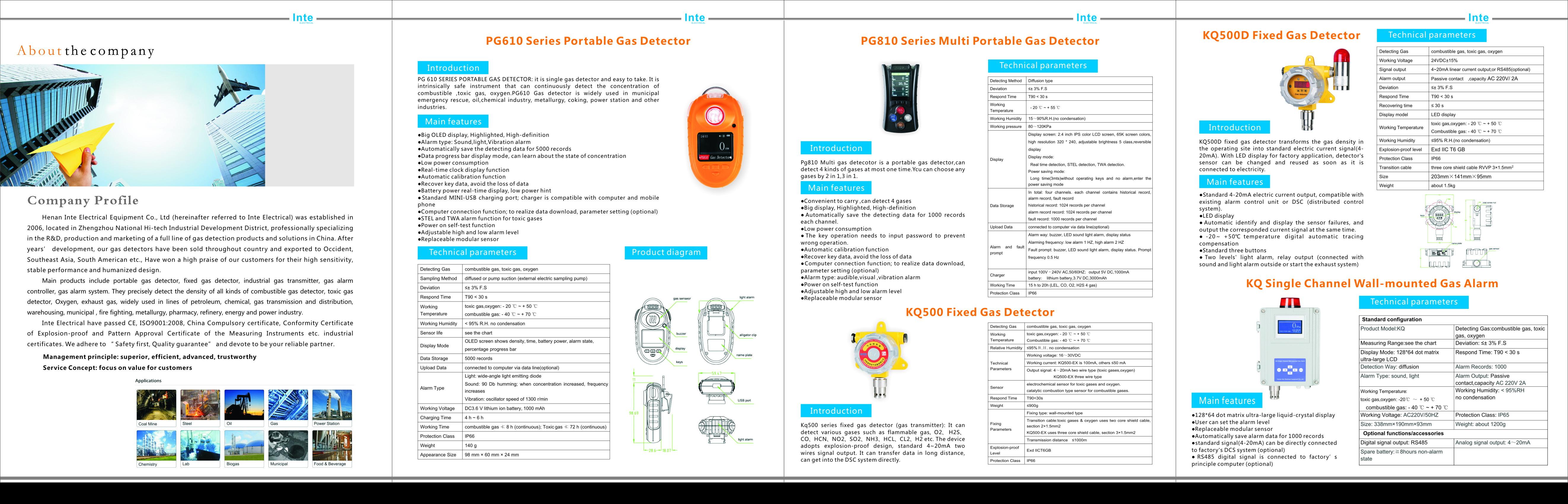 دتکتور گاز پرتابل Portable Gas Detector اندازه گیری مقدار گاز ها گاز های قابل اشتغال قابل انفجار و سمی